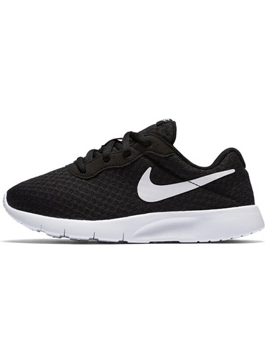 Nike Erkek Çocuk Siyah Spor Ayakkabı 818382 - 011 Tanjun (PS) Siyah